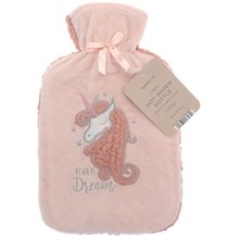 COUNTRY CLUB HOT WATER BOTTLE - UNICORN 2L