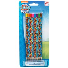 PAW PATROL COLOURING PENCILS - 8 PACK