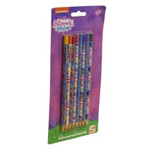 SHIMMER AND SHINE COLOURING PENCILS - 8 PACK
