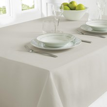 TABLECLOTH 130 X 180CM - GREY