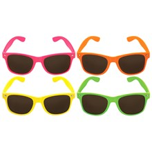 NEON FRAME SUNGLASSES UV400 PROTECTION