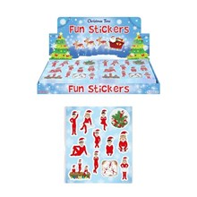 ELF CHRISTMAS STICKERS - 120 PACK
