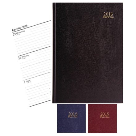 A4 DIARY - 2021 WEEK TO VIEW