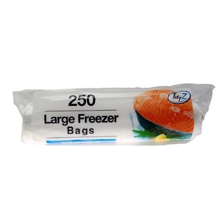 TIDYZ - LARGE FREEZER BAGS - 250 PACK