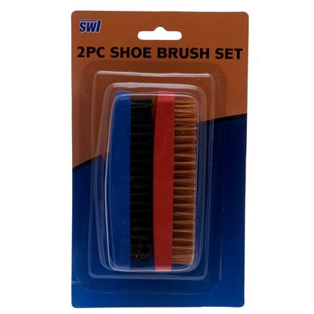 SWL - SHOE BRUSH SET - 2 PACK