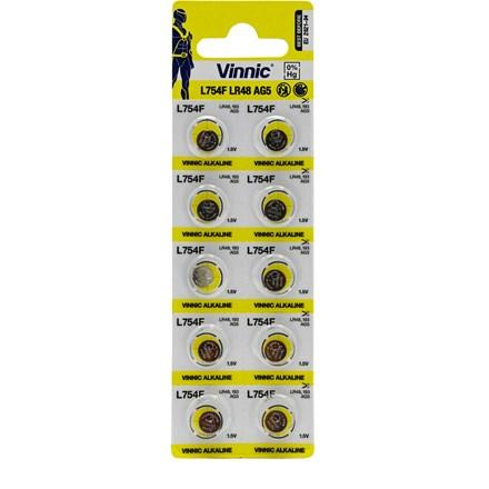 VINNIC 754 BATTERY - 10 PACK