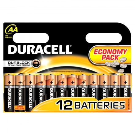 DURACELL AA - 12 ECONOMY PACK