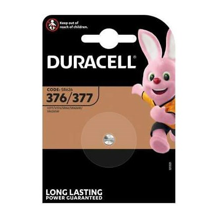 DURACELL - 376/377 1.5 WATCH CELL BATTERY