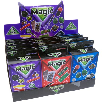 15 MAGIC TRICKS DISPLAY BOX