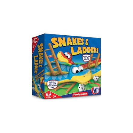 TRADITIONAL GAMES - SNAKES & LADDERS