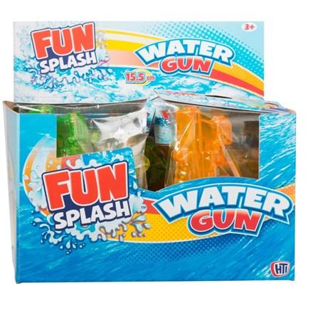 FUN SPLASH WATER GUN 15CM