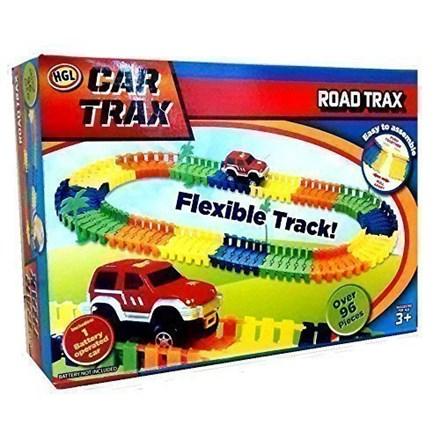 CREATE A FLEXIBLE ROAD CAR TRAX
