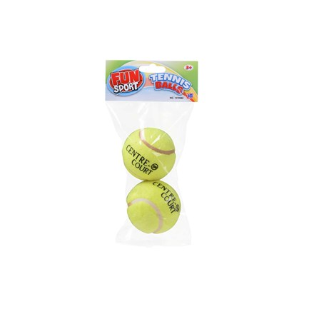 FUN SPORT - TENNIS BALL - 2 PACK