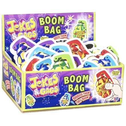 JOKES AND GAGS - BOOM BAGS - 100 PACK