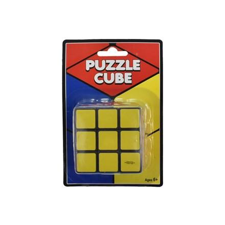 BLISTERCARD - PUZZLE CUBE 6.5CM X 6.5CM