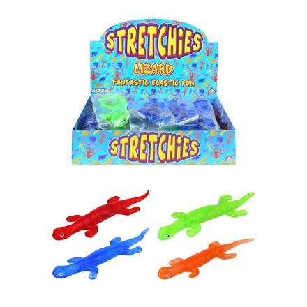 LIZARD STICKY STRETCHIES - 4 ASSORTED