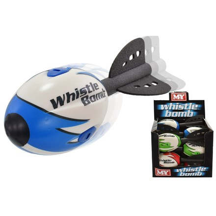 M.Y - 28CM WHISTLE BOMB - 3 ASSORTED
