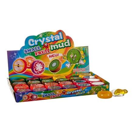 """MINI FRUIT CRYSTAL MUD - 1.5"""""""