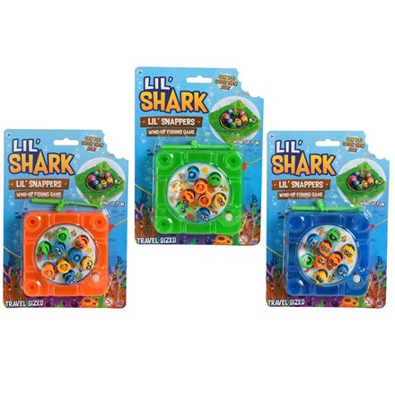 LIL' SHARK -LIL' SNAPPERS TRAVEL SIZE FISHING GAME