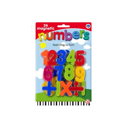 MAGNETIC NUMBERS - 26PACK