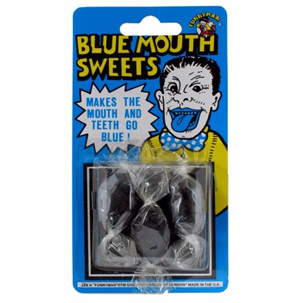 BLUE MOUTH SWEETS