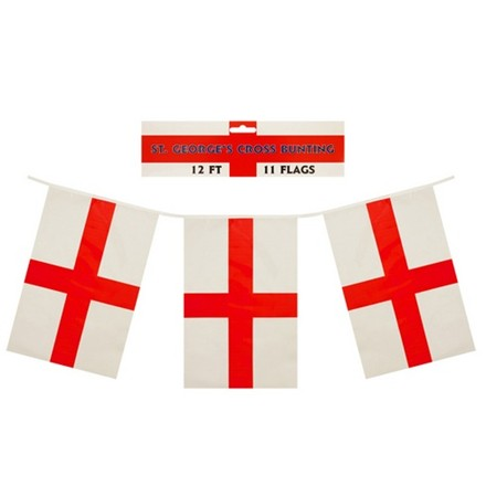 BUNTING ST GEORGE 12FT 11 FLAG