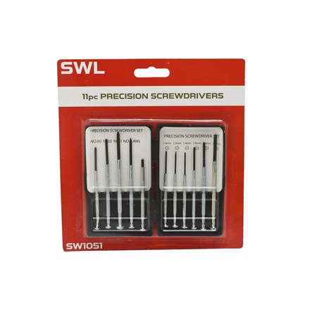 SWL - PRECISION SCREWDRIVER SET - 11 PACK
