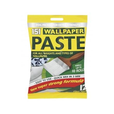 151 - WALLPAPER PASTE - 10 ROLLS
