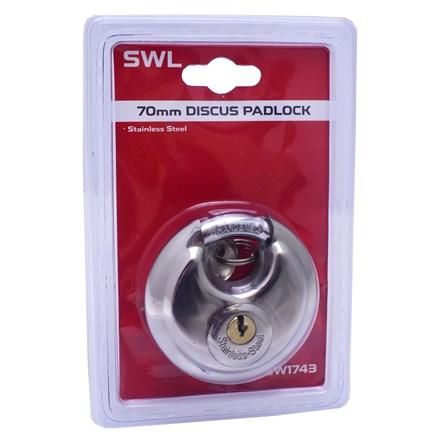 SWL - DISC PADLOCK - 70MM
