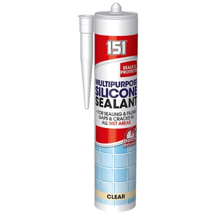 151 - MULTIPURPOSE SILICONE SEALANT - CLEAR