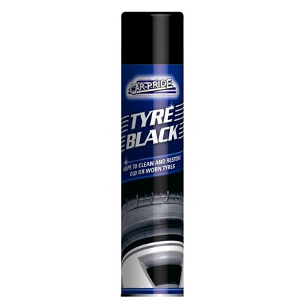 CAR-PRIDE - TYRE BLACK