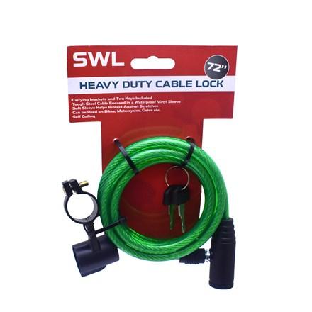 "SWL - HEAVY DUTY CABLE LOCK - 72"""