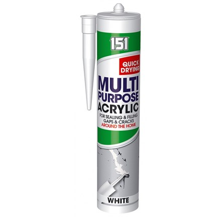 151 - MULTIPURPOSE ACRYLIC SEALANT - WHITE