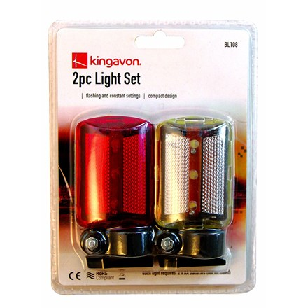 2PC BIKE LIGHT SET