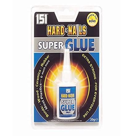 151 - HARD AS NAILS SUPER GLUE - 20G