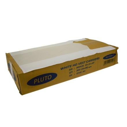 PLUTO - MEDIUM CARRIER BAGS - 100 PACK