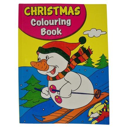 JUMBO CHRISTMAS COLOURING BOOK - 2ASST