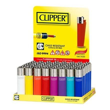 CLIPPER MINI - SOLID COLOUR - 40 PACK