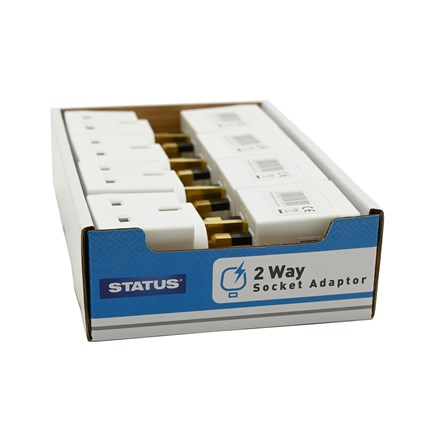 STATUS - 2 WAY MAINS ADAPTOR