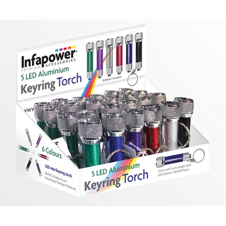 INFAPOWER - 5 LED ALUMINUM TORCH