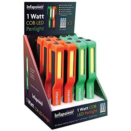 INFAPOWER - COB LED PENLIGHT 1 WATT