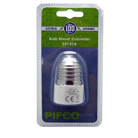 PIFCO - BULB MOUNT CONVERTER E27-E14