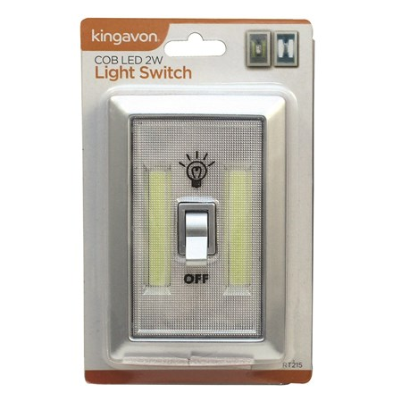 KINGAVON - COB LED 2W LIGHT SWITCH