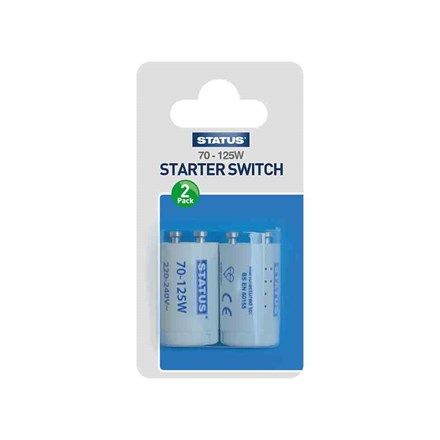 STATUS - STARTER SWITCH 70-125W - 2 PACK
