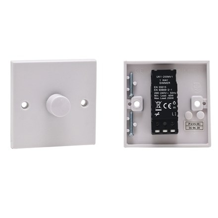 PIFCO - 1 GANG 1 WAY DIMMER SWITCH