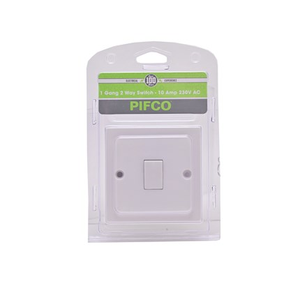 PIFCO - 1 GANG 2 WAY SWITCH