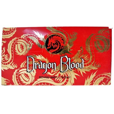 SATYA - DRAGON BLOOD INCENSE STICKS - 15GX12 PACK