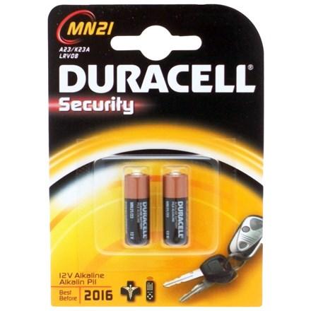 DURACELL MN21 LRV08 12V - 2 PACK