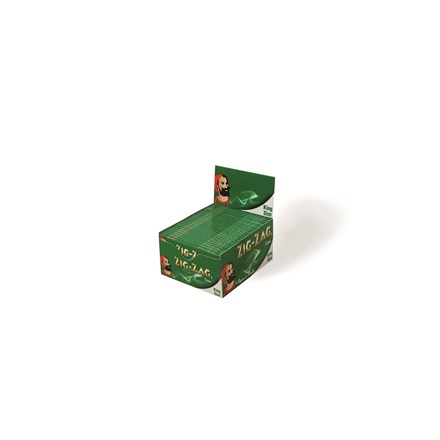 ZIG ZAG KING SIZE GREEN - 50 PACK