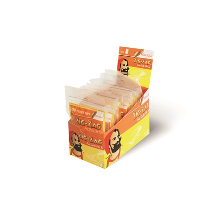 ZIG ZAG REGULAR FILTERS - 10 PACK X 150 TIPS